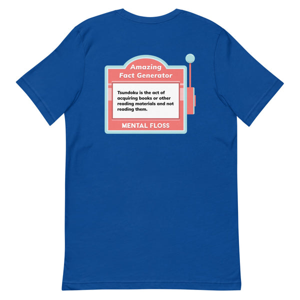 Mental Floss 20th Anniversary Fact 2.0 Short-Sleeve Unisex T-Shirt