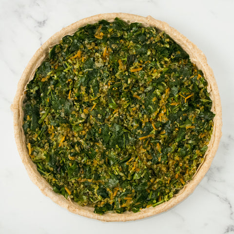 Chortopita (pie with various greens and vegetables)