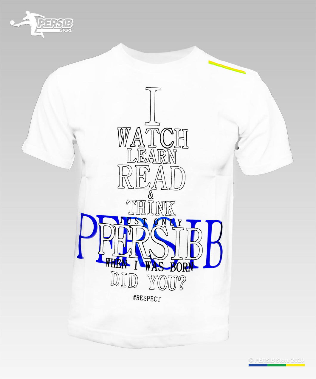 PERSIB - I Think Adult Putih
