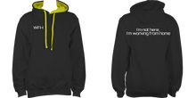 "Load image into Gallery viewer, ""I'm not here"" Unisex Hoodie"