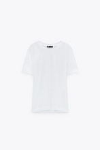 Load image into Gallery viewer, Short Sleeve T-Shirt With A Round Neck