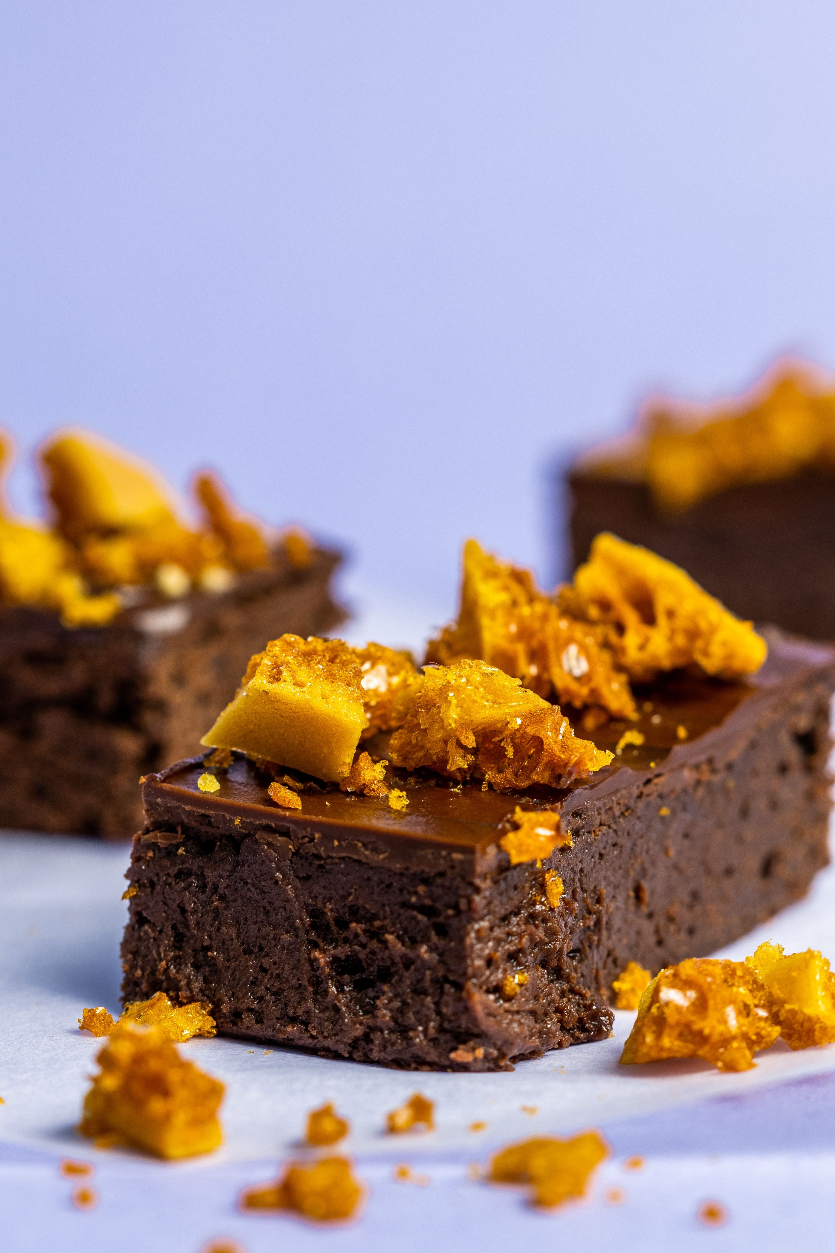 Honeycomb Crunch Brownie