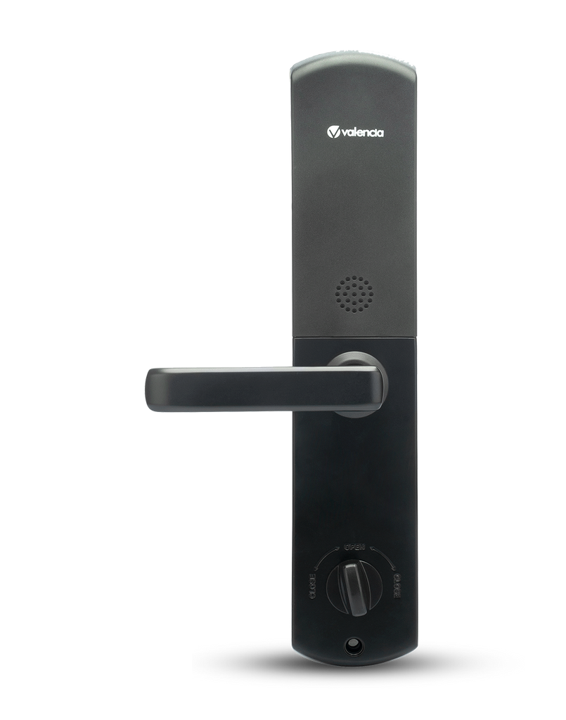 Filip Smart Door lock with Fingerprint, RFID, PIN Access, Black