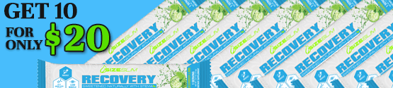 recovery bcaa grab-n-go's get 10 for $20