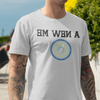 "T-Shirt Men's Gym Mirror Reflection - ""A New ME"""