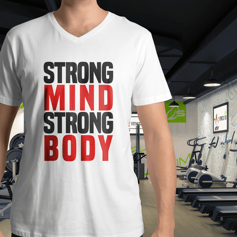 "T-Shirt ""Strong Mind Strong Body"""
