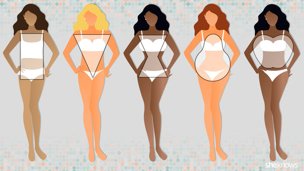 Different Shapes In Women