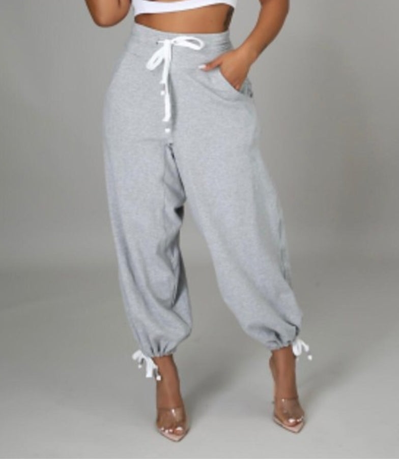 Parachute Pants (Black Only)