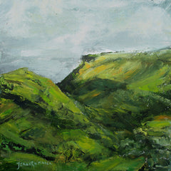 Glenariff - acrylic on canvas