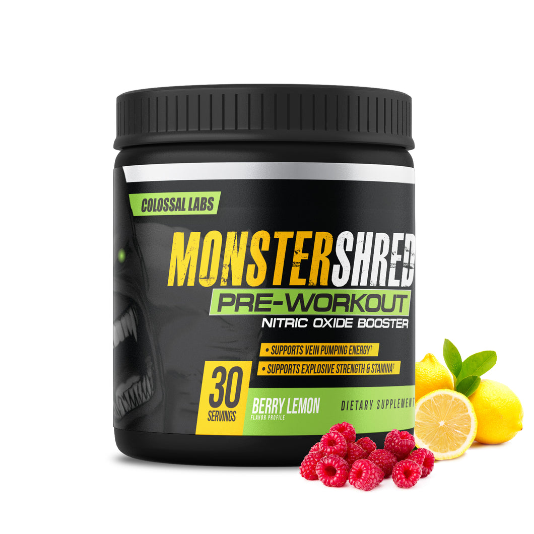 Monster Shred Pre-Workout