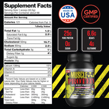 Load image into Gallery viewer, Muscle Protein - 100% Whey  5LB