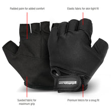 Load image into Gallery viewer, Workout Fitness Gloves - Black