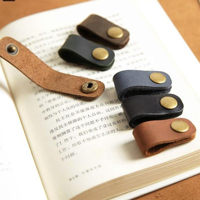 Leather Wire Clip Hooks