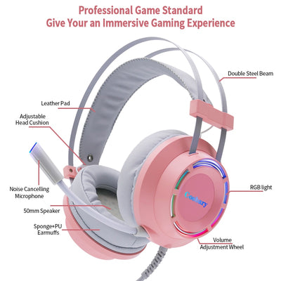 Lovely Gaming Headphones