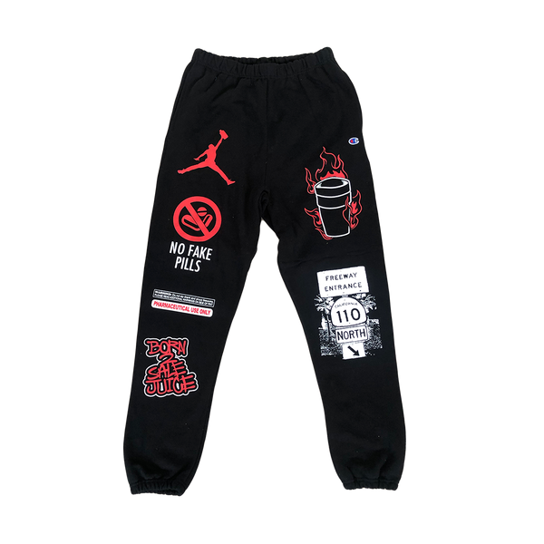 No Fake Pills Champion Sweats
