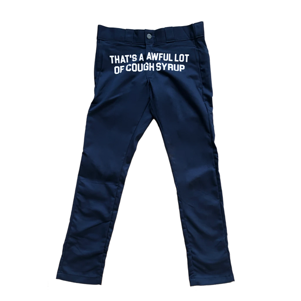 Cough Syrup Pants - Navy