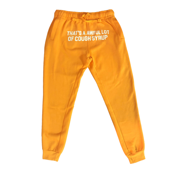 Cough Syrup Sweatpants - Gold