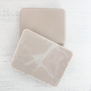Woody Leather + Brandy Face and Body Soap