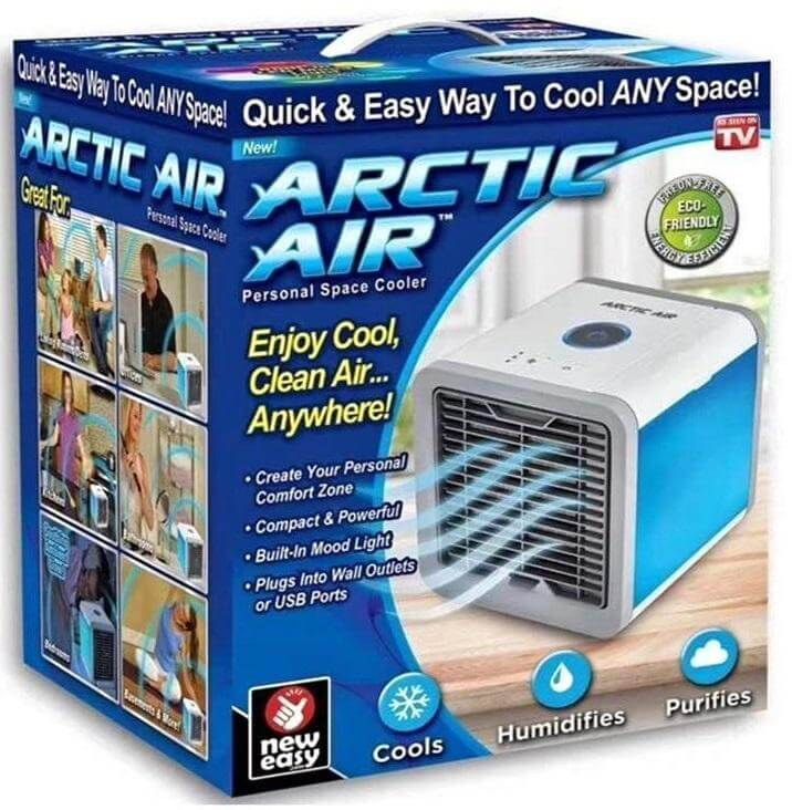Mini Aire Acondicionado Artic Air Ultra