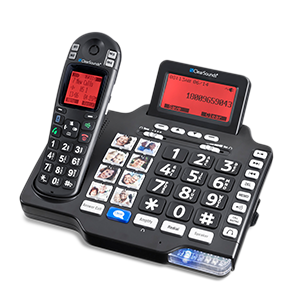 ClearSounds® A1600BT Dect 6.0 Amplified Cordless Phone with Bluetooth Connectivity