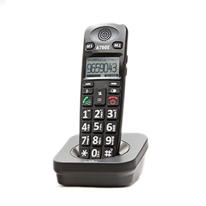 ClearSounds® A700E Extension Handset for A700 Amplified Cordless Phone with Digital Answering Machine