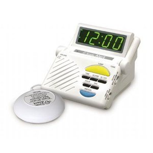 Sonic Alert Sonic Boom Alarm Clock / Receiver with Super Bed Shaker