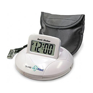 Sonic Alert Portable Vibrating Alarm Clock
