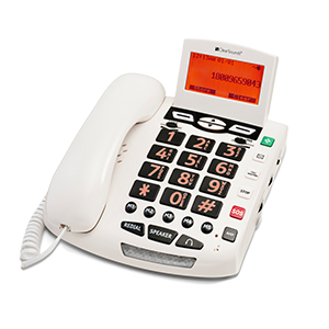 ClearSounds® WCSC600 Digital Amplified Freedom Phone™ with Full ClearDigital™ Power (white)
