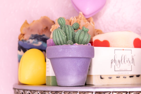Cactus Molded Soap by PhyllisK New York
