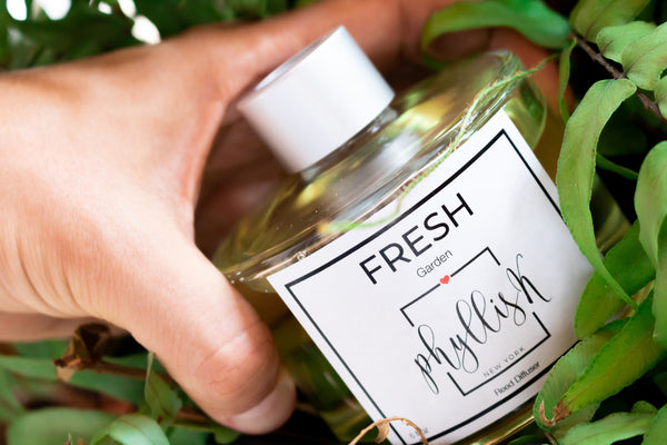Fresh Garden scented Oil Reed Diffuser