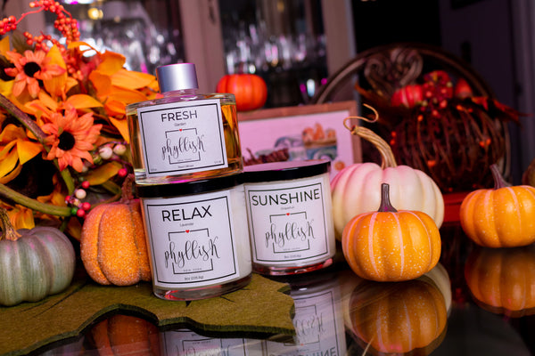 Fall Candle and diffuser collection 2021