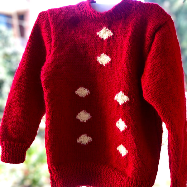 Red Kid Sweater