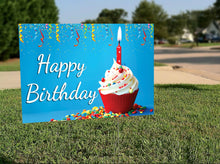 Load image into Gallery viewer, Birthday Lawn Signs