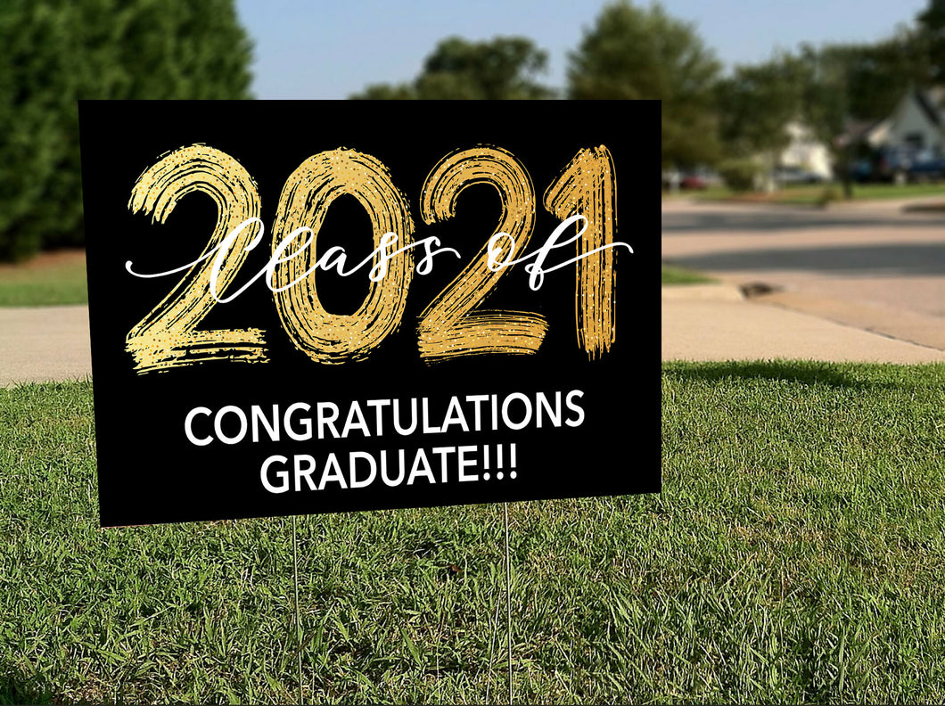 Design Your Own Graduation lawnsigns