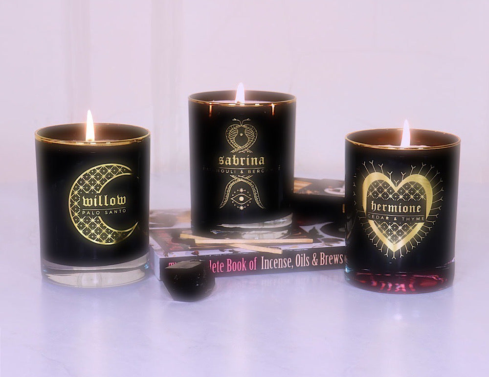 bijou candles witch candles