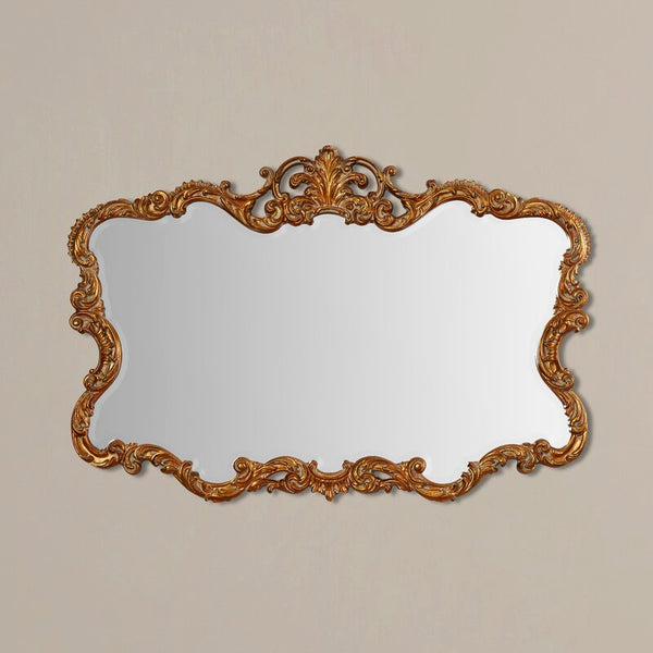 gold ornate mirror