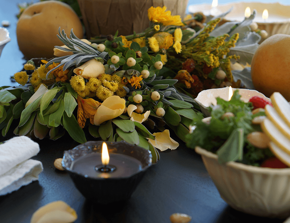 Bijou Candles | Fall Tablescape Ideas