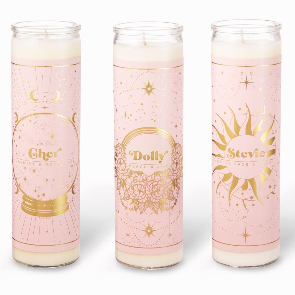 Tall Votive Candles - 70s Icons