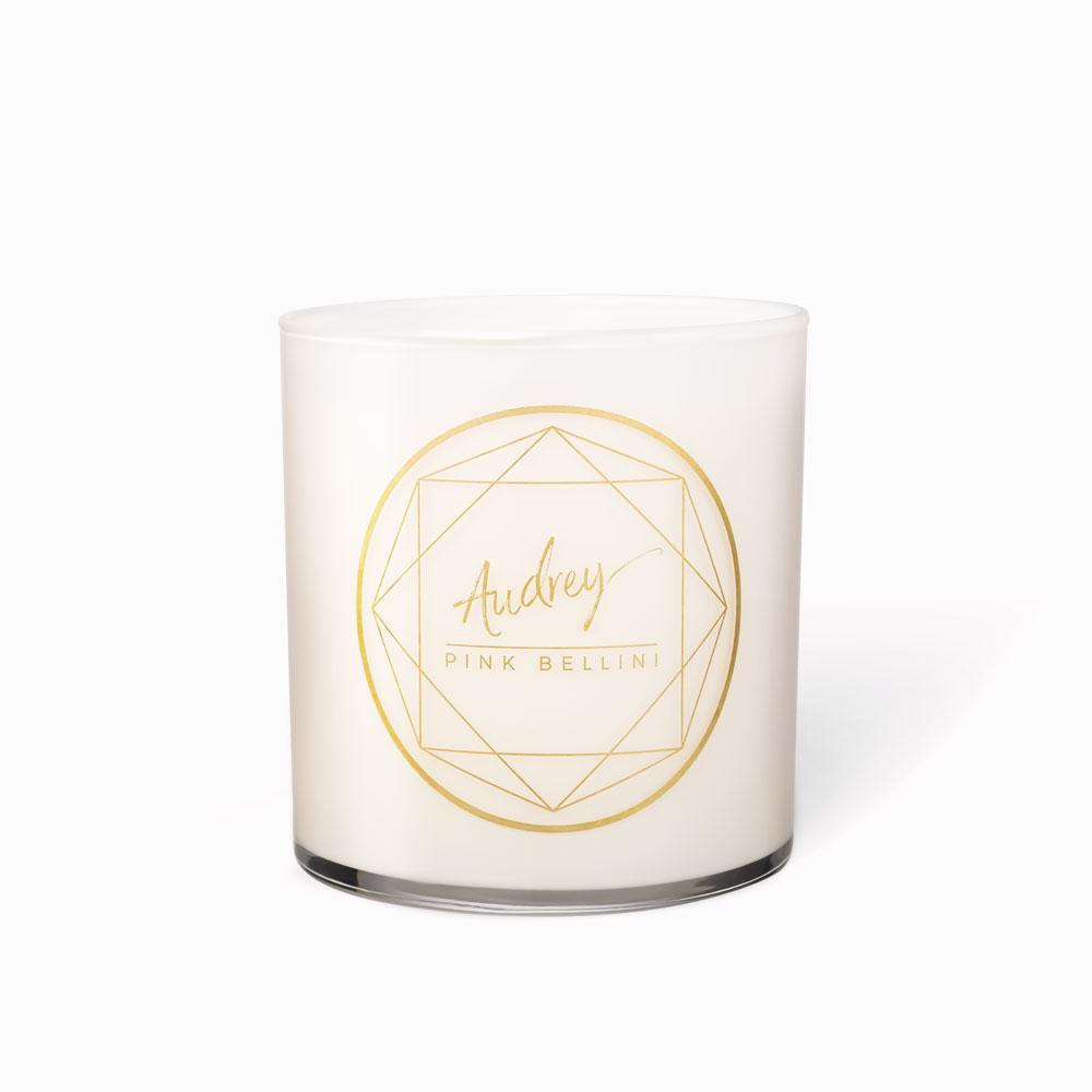 Classic Candles - Audrey • Pink Bellini