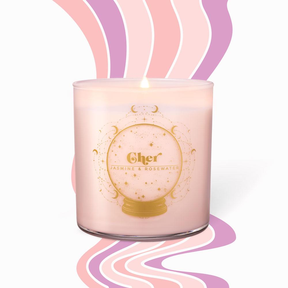 Classic Candles - Cher • Jasmine & Rosewater