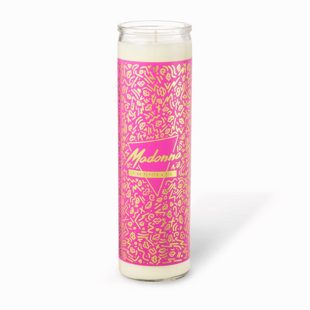 Tall Votive Candles - Madonna · Pink Pepper & Fig