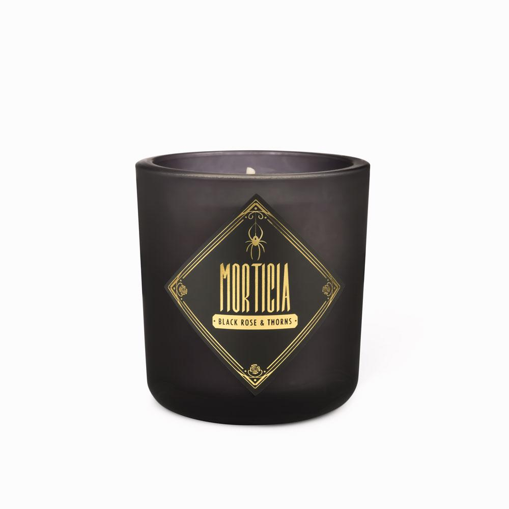 Votive Candles - Morticia • Black Rose & Thorns
