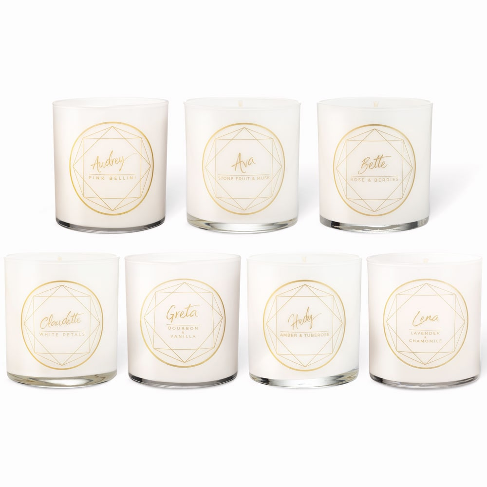 The Super Starlets Candle Set