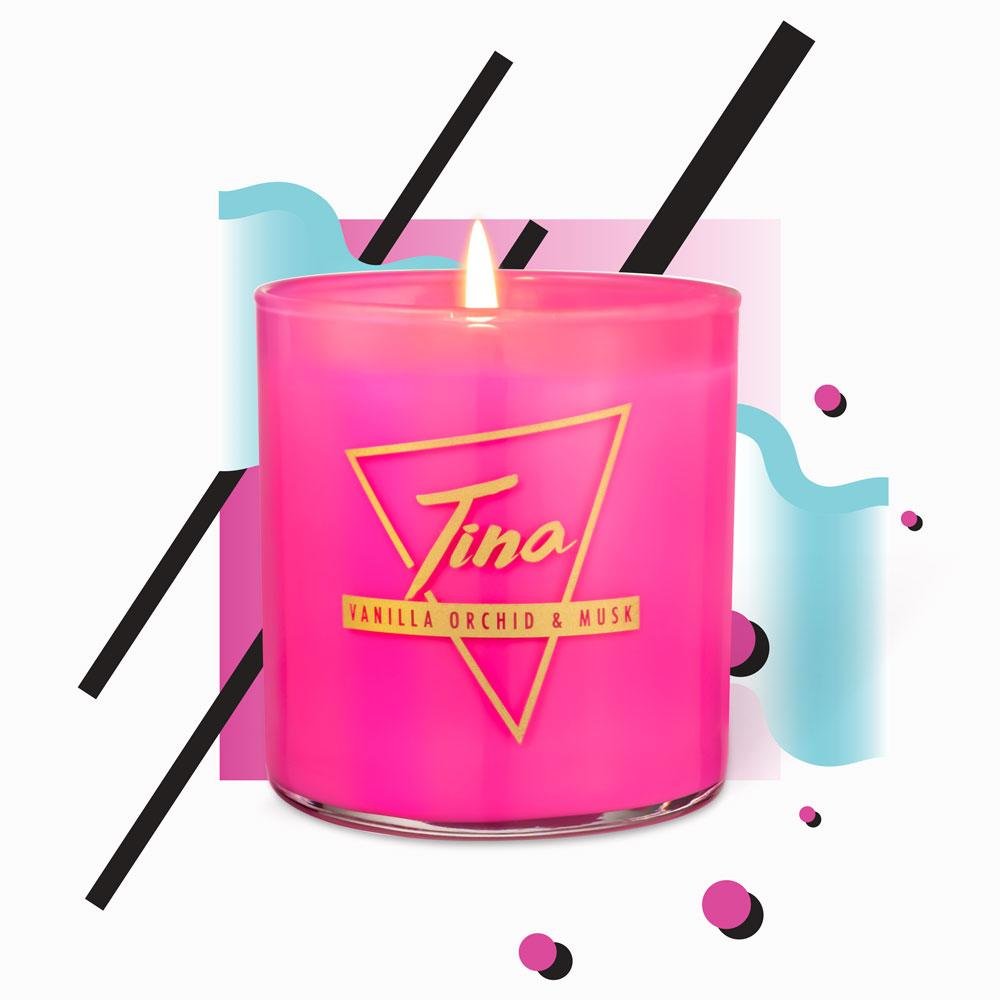 Classic Candles - Tina · Vanilla Orchid & Musk