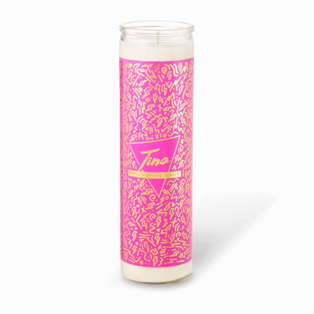 Tall Votive Candles - Tina · Vanilla Orchid & Musk