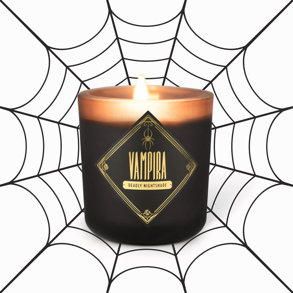 Votive Candles - Vampira • Deadly Nightshade
