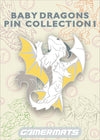 "Baby White Dragon from Baby Dragons Pin Set 1 2"" Pin"