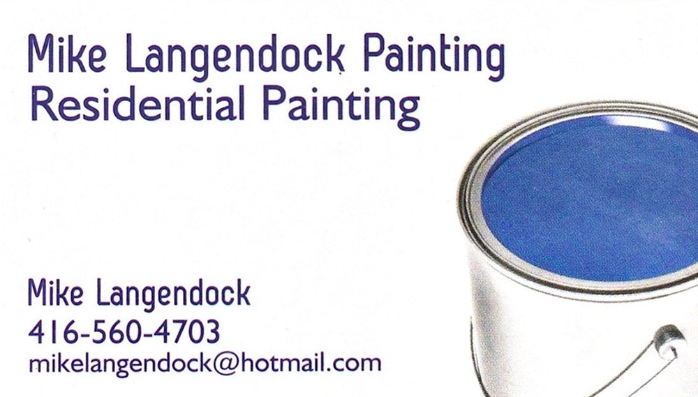 Mike Langendock Painting Residential Painting - Mike Langendock - 416-560-4703 - mikelangendock@hotmail.com
