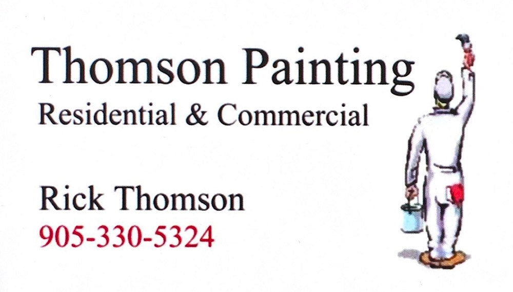 Thomson Painting Residential & Commercial - Rick Thomson - 905-330-5324