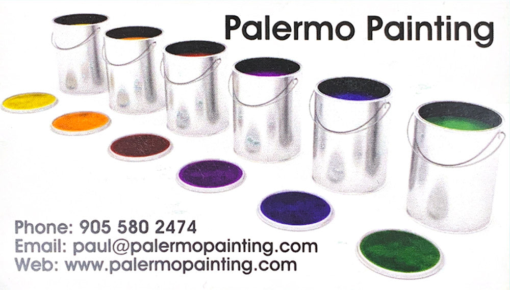 Palermo Painting - Phone: 905-580-2474 - Email: paul@palermopainting.com - Web: www.palermopainting.com